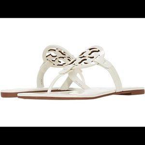 Tory Burch Miller sandals-white